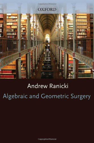 Large book cover: Algebraic and Geometric Surgery