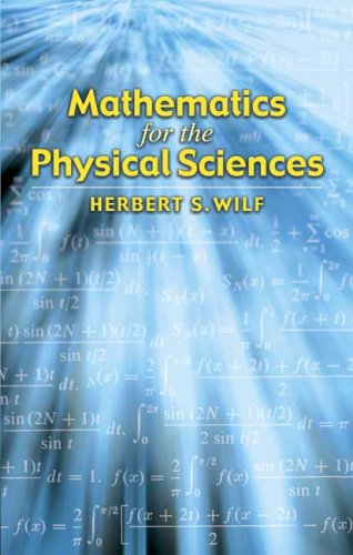 Large book cover: Mathematics for the Physical Sciences