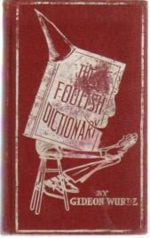 Large book cover: The Foolish Dictionary