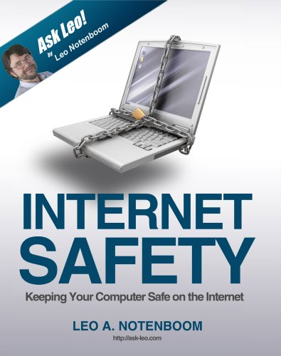 Large book cover: Internet Safety: Keeping your Computer Safe on the Internet