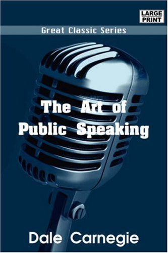 Large book cover: The Art of Public Speaking
