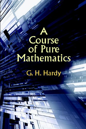 Large book cover: A Course of Pure Mathematics