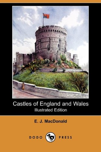 Large book cover: Castles of England and Wales