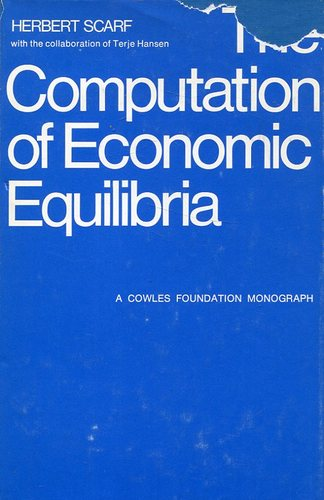 Large book cover: The Computation of Economic Equilibria