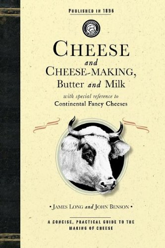 Large book cover: Cheese and Cheese-Making
