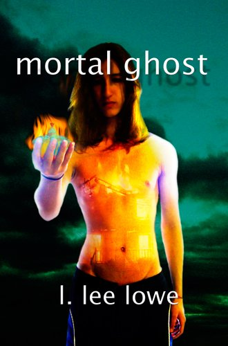 Large book cover: Mortal Ghost