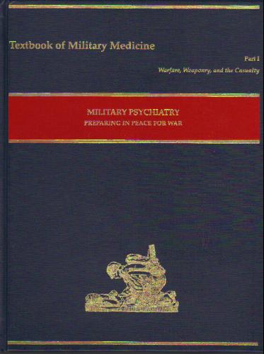 Large book cover: Military Psychiatry: Preparing in Peace for War