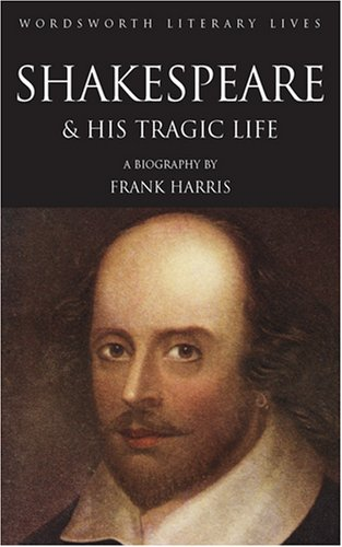 Large book cover: The Man Shakespeare and his Tragic Life Story
