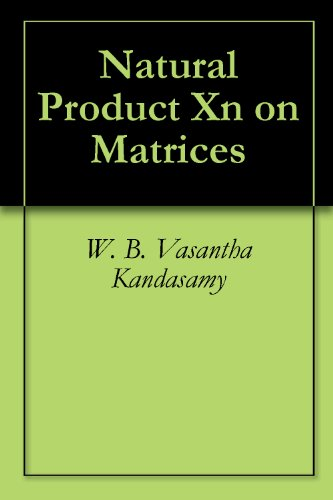 Large book cover: Natural Product Xn on matrices