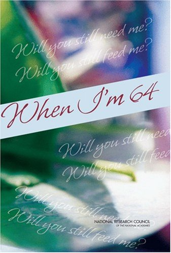 Large book cover: When I'm 64