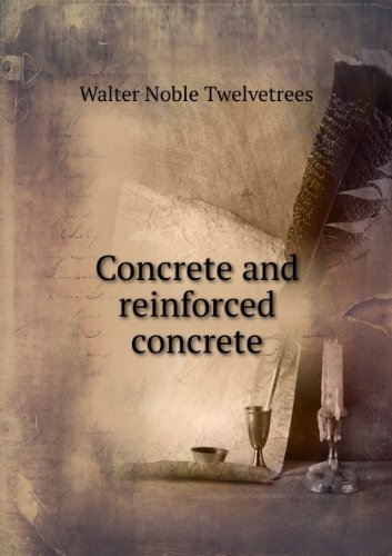 Large book cover: Concrete and Reinforced Concrete