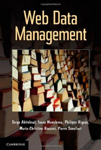 Large book cover: Web Data Management