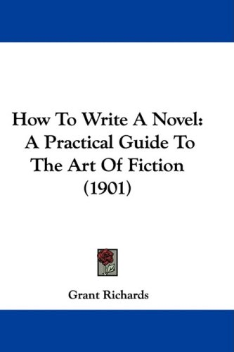 Large book cover: How to Write a Novel