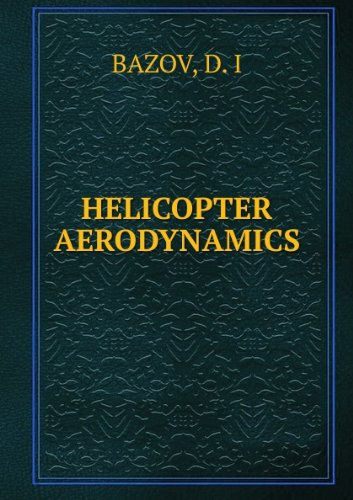 Large book cover: Helicopter Aerodynamics