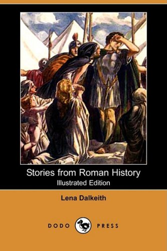 Large book cover: Stories From Roman History