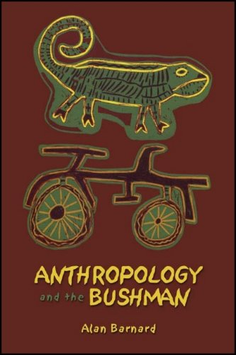 Large book cover: Anthropology and the Bushman