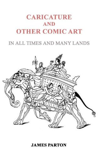 Large book cover: Caricature and Other Comic Art