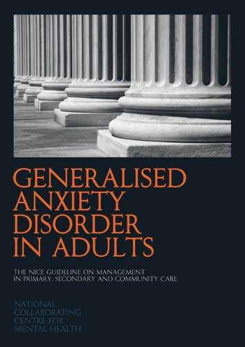Large book cover: Generalised Anxiety Disorder in Adults
