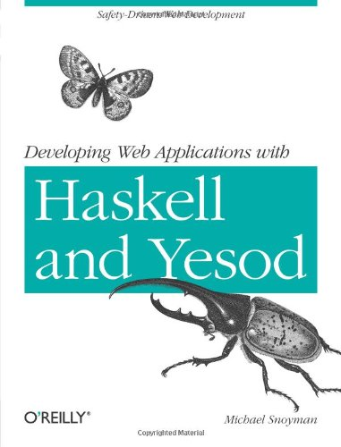 Large book cover: Developing Web Applications with Haskell and Yesod