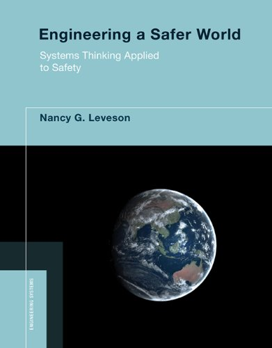 Large book cover: Engineering a Safer World: Systems Thinking Applied to Safety