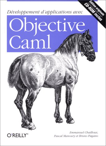 Large book cover: Developing Applications with Objective Caml
