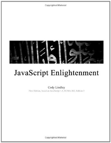 Large book cover: JavaScript Enlightenment