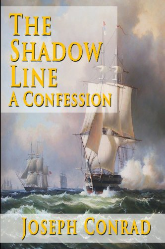 Large book cover: The Shadow Line: A Confession