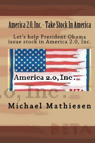 Large book cover: America 2.0 Inc. - Take Stock In America!