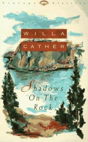 Large book cover: Shadows on the Rock