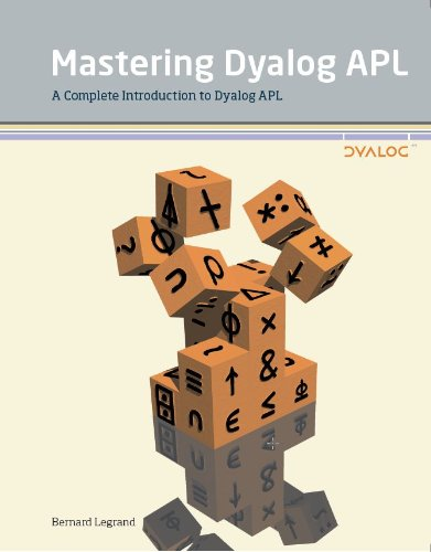 Large book cover: Mastering Dyalog APL