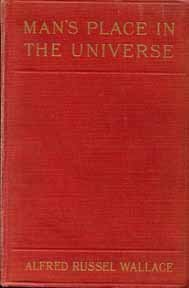 Large book cover: Man's Place in the Universe