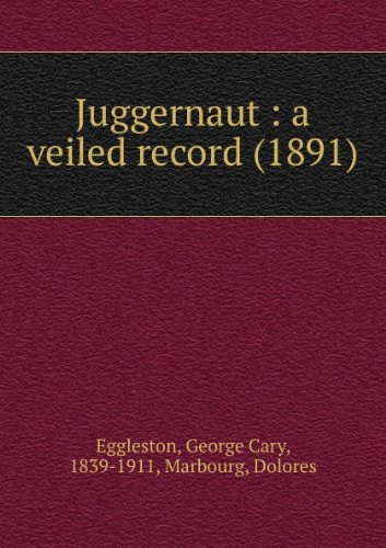 Large book cover: Juggernaut