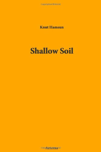 Large book cover: Shallow Soil