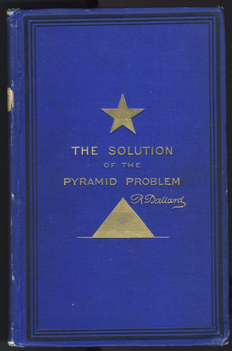 Large book cover: The Solution of the Pyramid Problem