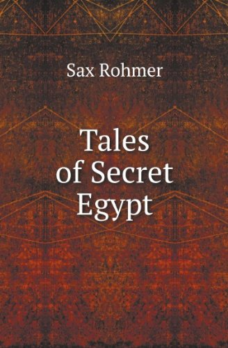 Large book cover: Tales of Secret Egypt