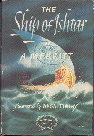 Large book cover: The Ship of Ishtar