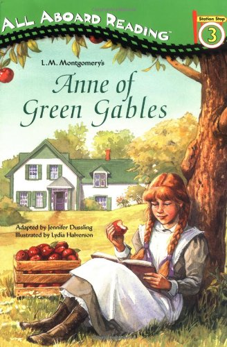 Large book cover: Anne of Green Gables