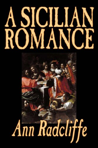 Large book cover: A Sicilian Romance
