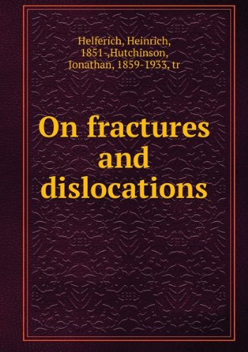 Large book cover: On Fractures and Dislocations