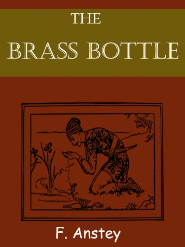 Large book cover: The Brass Bottle