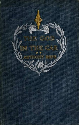 Large book cover: The God in the Car