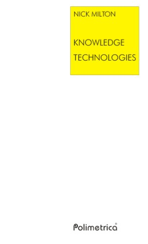 Large book cover: Knowledge Technologies