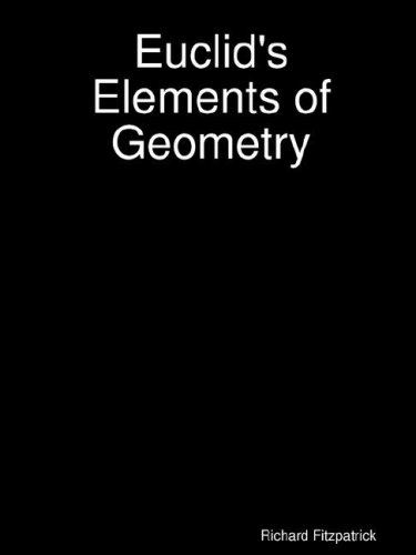 Large book cover: Euclid's Elements of Geometry