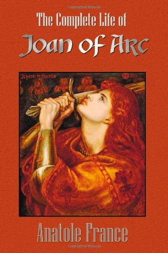 Large book cover: The Life of Joan of Arc