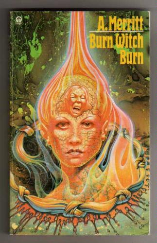 Large book cover: Burn, Witch, Burn!