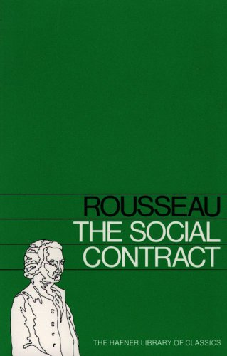 Large book cover: The Social Contract