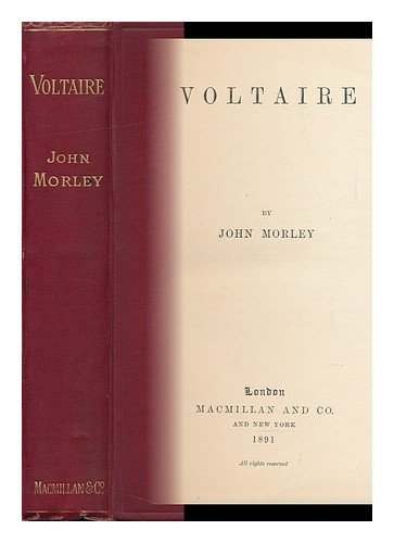 Large book cover: Voltaire