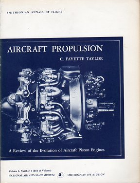 Large book cover: Aircraft Propulsion : a review of the evolution of aircraft piston engines