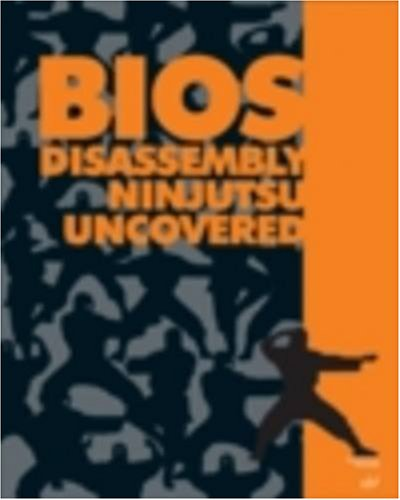 Large book cover: BIOS Disassembly Ninjutsu Uncovered