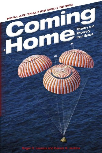 Large book cover: Coming Home: Reentry and Recovery from Space